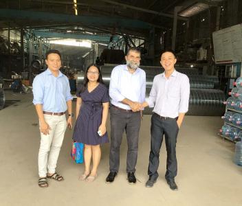 Công ty Excel Pies Malaisia tham quan & hợp tác với Môi Trường Đại Thanh