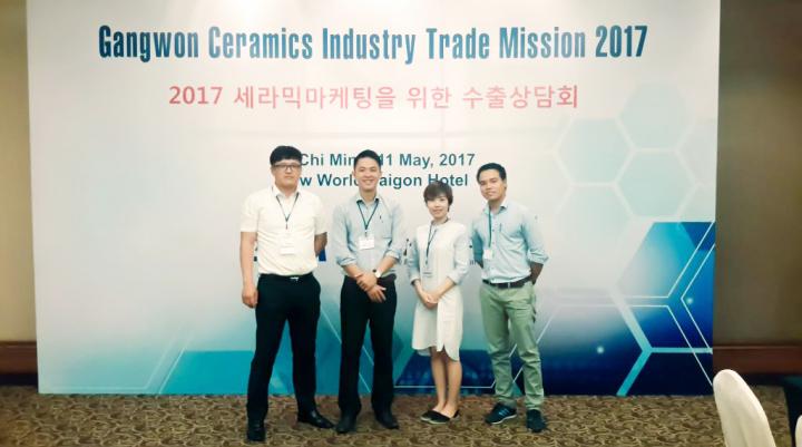 Giao lưu hợp tác quốc tế về công nghệ xử lý môi trường