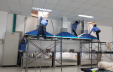 Thi công hệ chụp hút trong phòng thí nghiệm cho công ty C&T Hàn Quốc