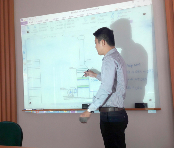 Thuyết trình giải pháp công nghệ môi trường cho công ty Thanh Sơn Hóa Nông