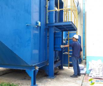 Bảo trì hệ thống xử lý khí thải cho công ty AK Vina Hàn Quốc