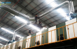 Thi công hệ đường ống xử lý mùi cho công ty Joli Vina