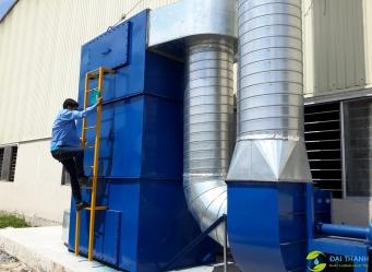 Lắp đặt hệ thống xử lý mùi công ty Sơn Tân Đức