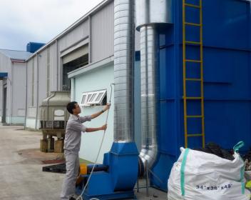 Thiết kế thi công hệ thống xử lý mùi tại nhà máy NPC Toda Việt Nam