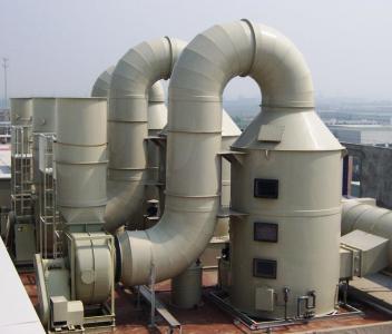 Sản phẩm xử lý môi trường | Công nghệ xử lý khí thải môi trường nhà máy cao su hiệu quả